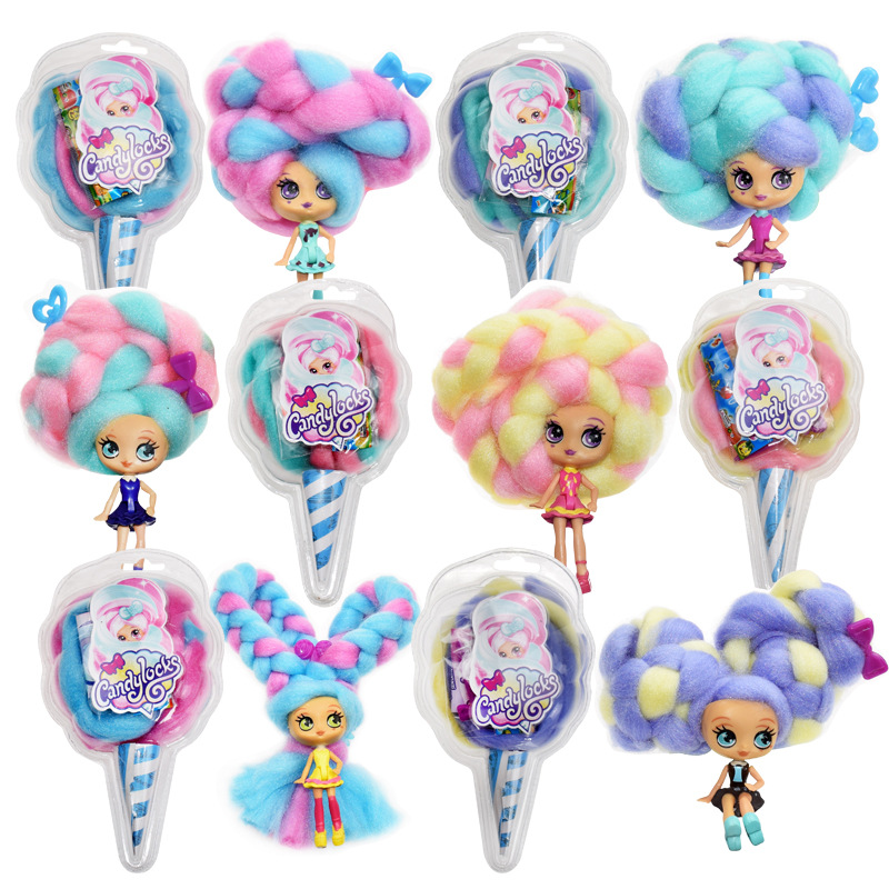 30cm Doll Sweet Treat Toys Lock LoL Reissue Marshmallow Candy Hair Scented Doll