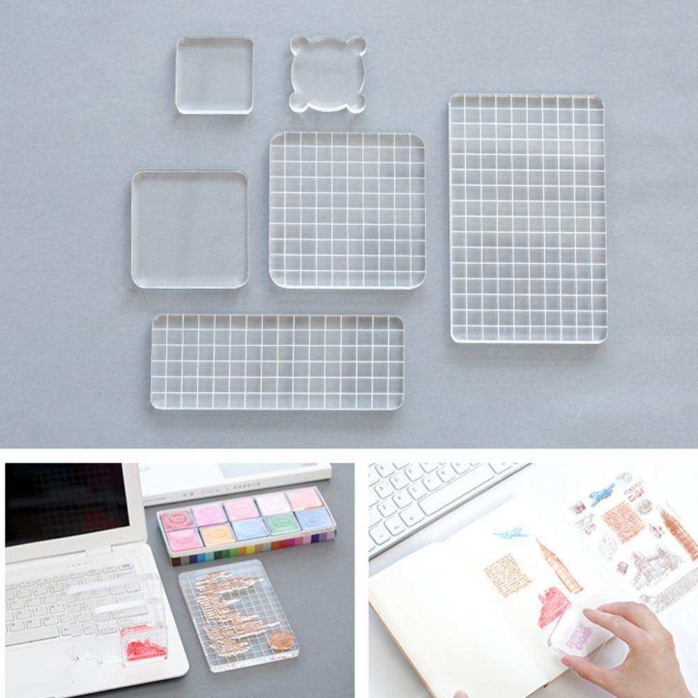 Acrylic Clear <font><b>Stamp</b></font