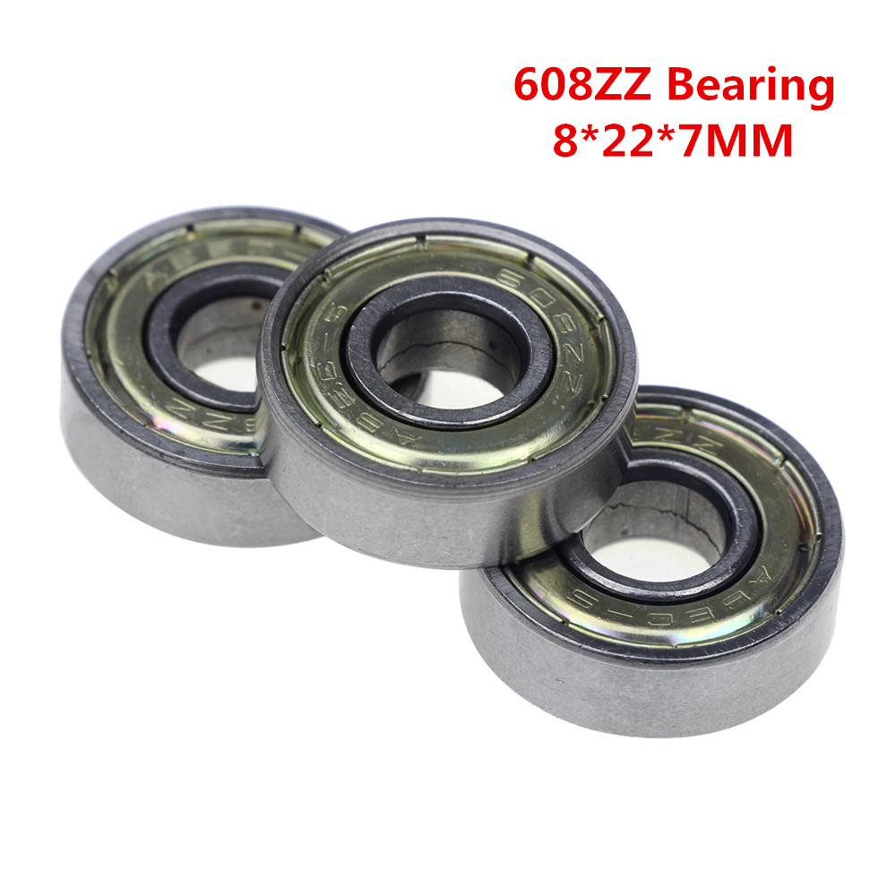 how to clean 608zz bearings