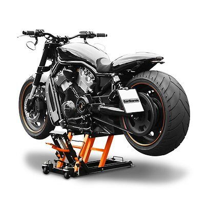 Elevador Tijera Moto XL para Yamaha XV 1900 Midnight Star Hidraulico negro