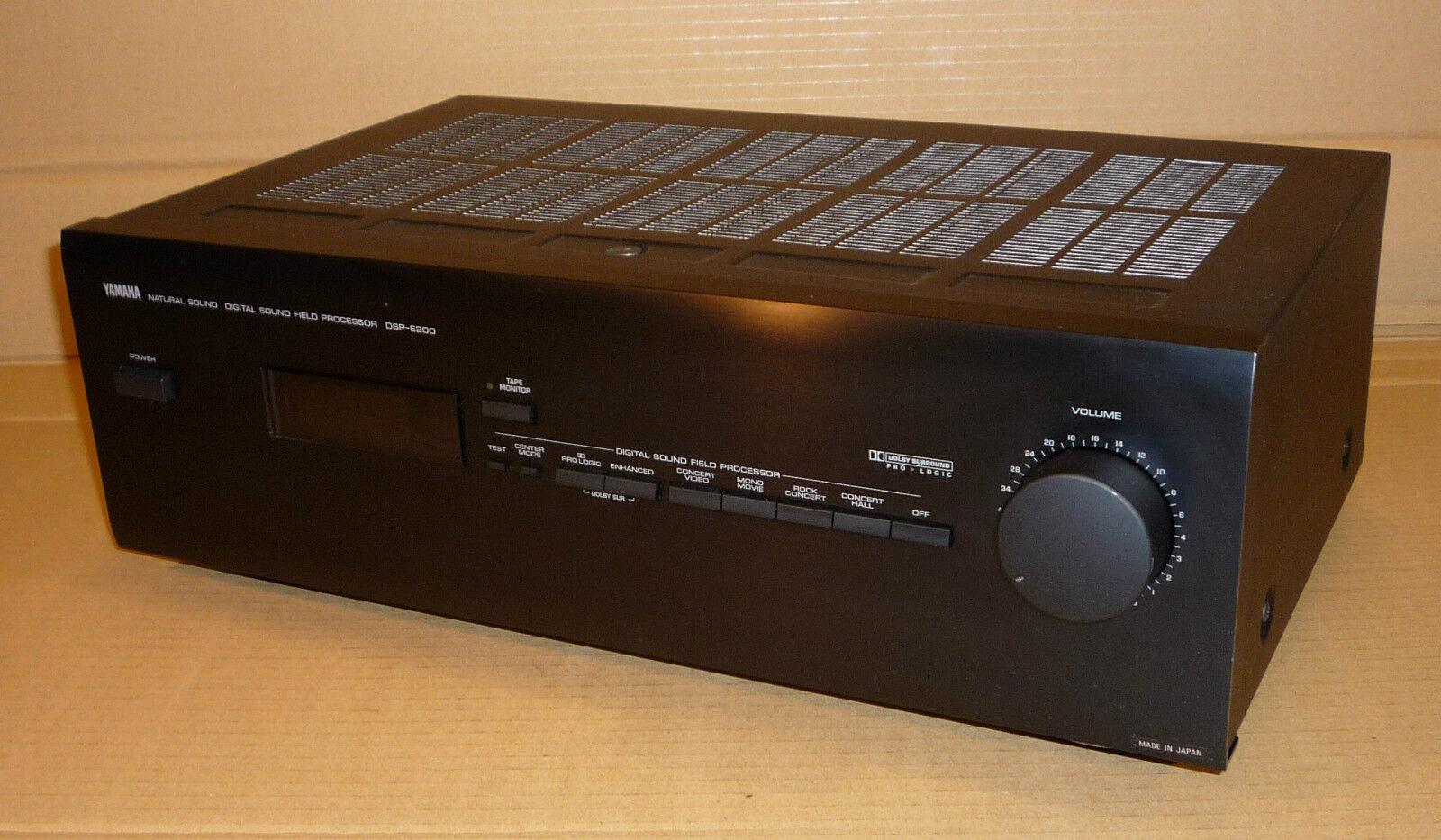 Ebay YAMAHA DOLBY PRO-LOGIC SURROUND SOUND DSP-E200 AV AMPLIFIER AMP CINEMA