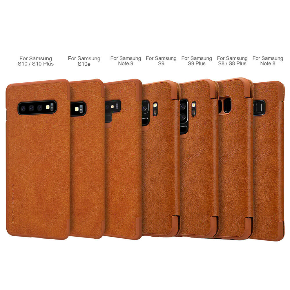 separation shoes f5cbd 76448 Ebay For Samsung Galaxy S10 Plus/S10e/Note 9/8/S9 Flip Card Slot Wallet  Leather Case