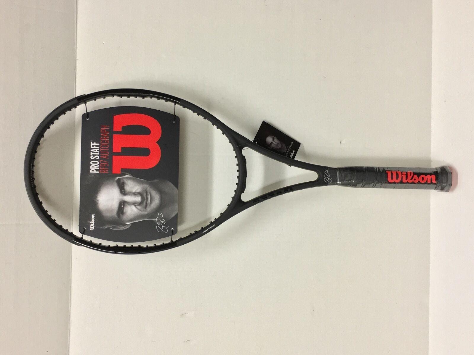 1239d7fa9 Ebay 2017 Wilson Pro Staff RF97 Autograph Tennis Racquet - Unstrung - Grip  4 5