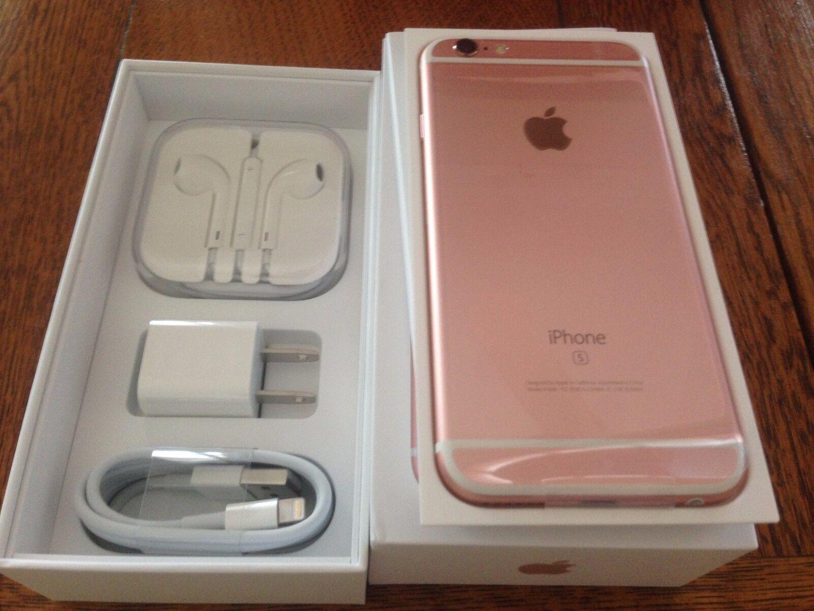 reputable site 8e2f3 00e08 Ebay NEW Rose Gold Space Gray iPhone 6S 128GB Factory UNLOCKED TMobile  Straight Talk