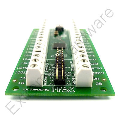 Ebay Ultimarc IPAC 2 Keyboard Encoder with USB Cable & Wiring Kit - New  Version I-PAC