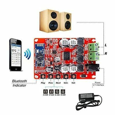 Ebay TDA7492P 2x50W Wireless Bluetooth 4 0 Audio Receiver Digital Amplifier  Board kit