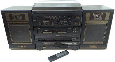 Ebay RETRO 90s HIFI SYSTEM STEREO CD TAPE CASSETTE RADIO RECORD TURNTABLE  BOOMBOX